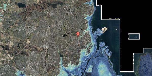 Stomflod og havvand på Dortheavej 2B, 2. th, 2400 København NV