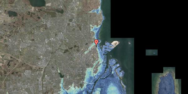 Stomflod og havvand på Svanemøllens Kaserne 81, 2100 København Ø