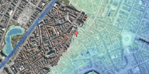 Stomflod og havvand på Købmagergade 46, 1150 København K