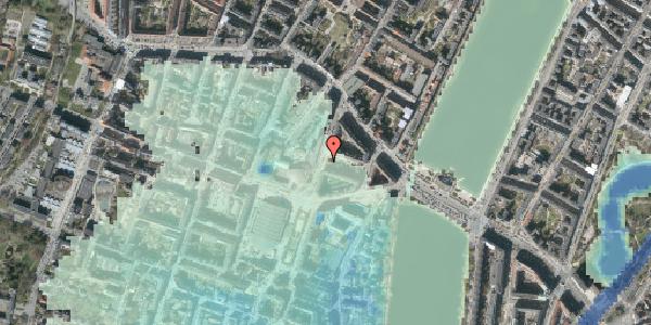 Stomflod og havvand på Herman Triers Plads 9, 1631 København V