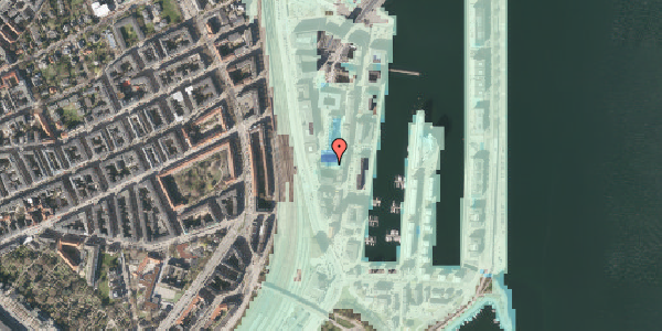 Stomflod og havvand på Amerika Plads 3E, 9. , 2100 København Ø