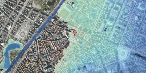 Stomflod og havvand på Landemærket 12, 1119 København K