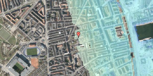 Stomflod og havvand på Viborggade 48, 1. tv, 2100 København Ø