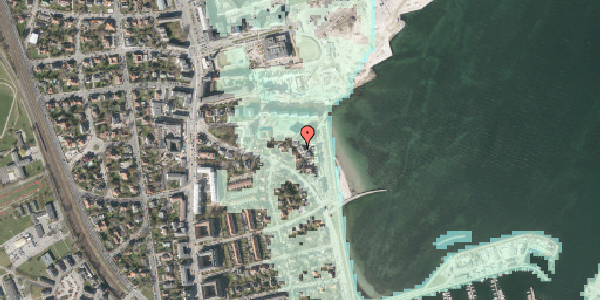 Stomflod og havvand på Strandpromenaden 65, st. tv, 2100 København Ø