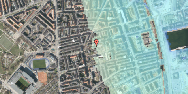 Stomflod og havvand på Viborggade 48, st. tv, 2100 København Ø