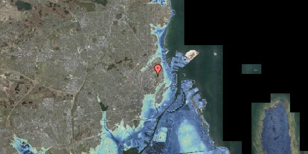 Stomflod og havvand på Edel Sauntes Allé 19, 2100 København Ø
