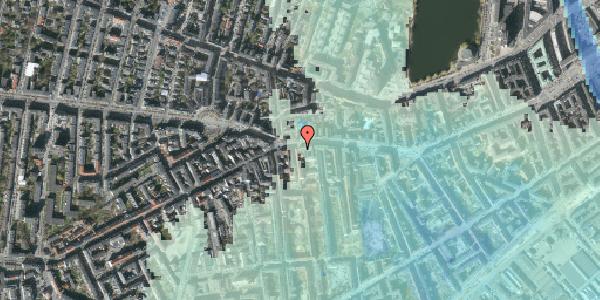 Stomflod og havvand på Vesterbrogade 73, 1620 København V