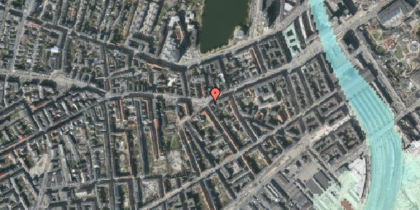 Stomflod og havvand på Vesterbrogade 45, st. , 1620 København V