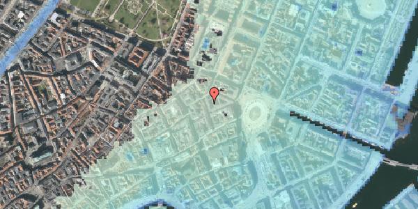Stomflod og havvand på Ny Østergade 10, 4. tv, 1101 København K