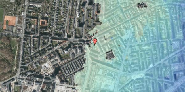Stomflod og havvand på Vesterbrogade 137B, 1620 København V