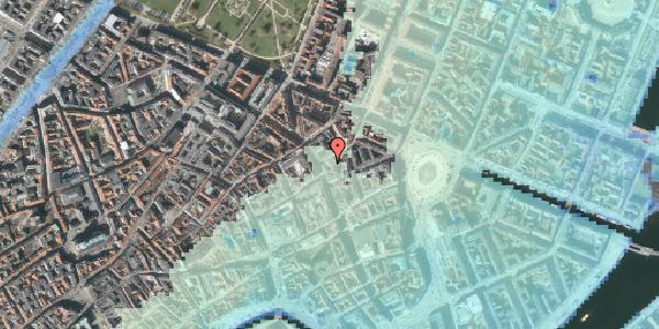 Stomflod og havvand på Grønnegade 6, 3. , 1107 København K