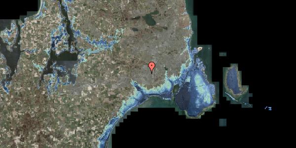 Stomflod og havvand på Jernbanevej 1, 2600 Glostrup