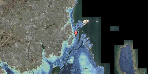 Stomflod og havvand på Stockholmsgade 62, 2100 København Ø