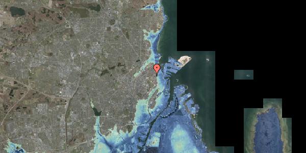 Stomflod og havvand på Ove Rodes Plads 2, 2100 København Ø