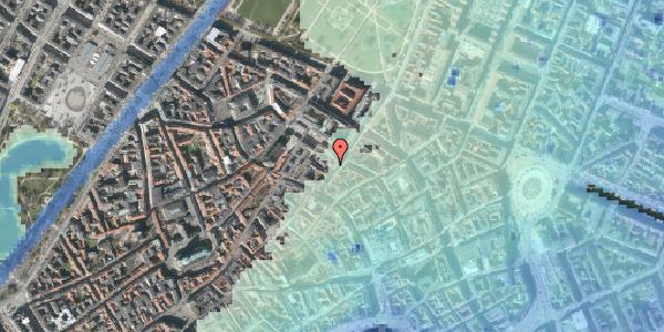 Stomflod og havvand på Klareboderne 3D, 1115 København K