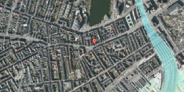Stomflod og havvand på Vesterbrogade 40, st. tv, 1620 København V