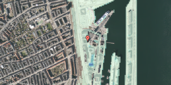 Stomflod og havvand på Amerika Plads 23, 2. tv, 2100 København Ø