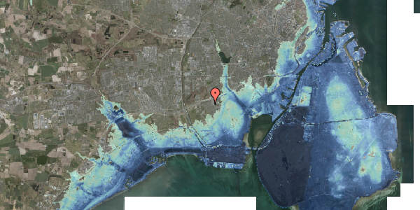 Stomflod og havvand på Hf. Kettehøj 3, 2650 Hvidovre
