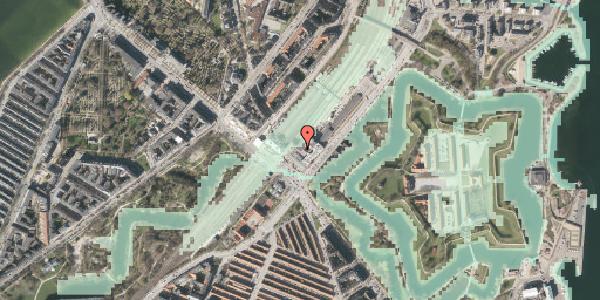 Stomflod og havvand på Oslo Plads 2C, 1. , 2100 København Ø