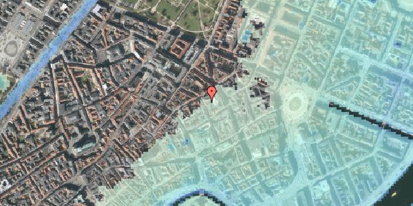 Stomflod og havvand på Pilestræde 32B, 1112 København K