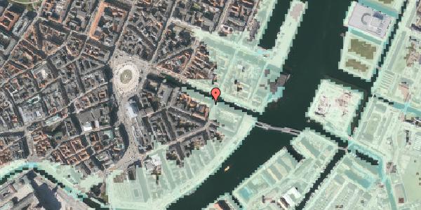 Stomflod og havvand på Nyhavn 24, 1051 København K
