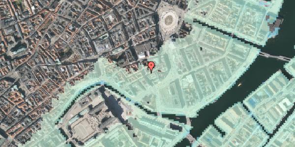 Stomflod og havvand på Laksegade 16, 1063 København K
