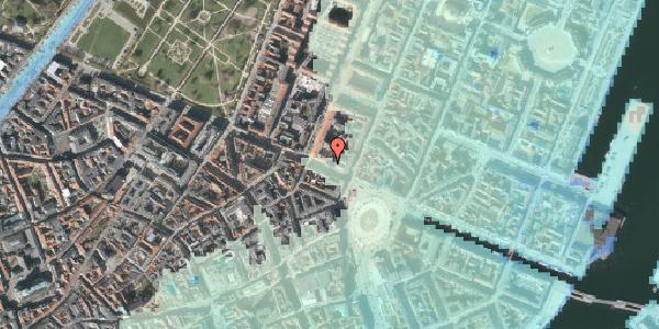 Stomflod og havvand på Gothersgade 10A, 1. , 1123 København K