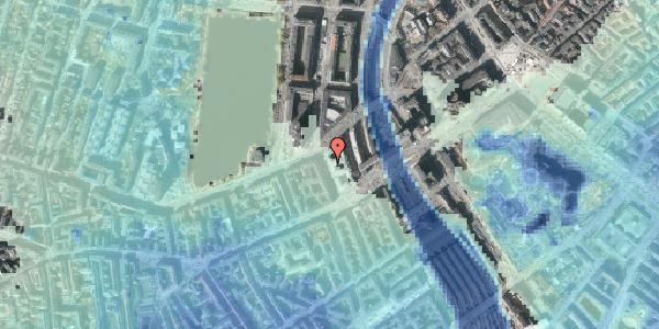Stomflod og havvand på Trommesalen 4, 6. , 1614 København V