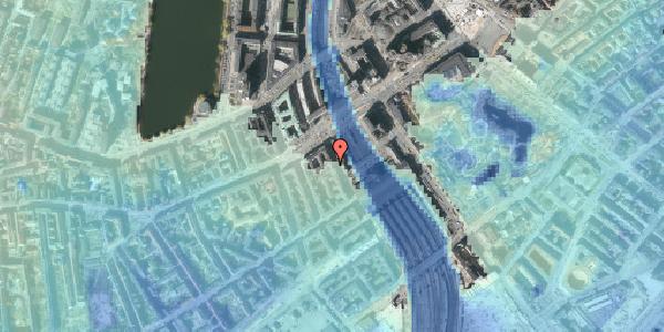 Stomflod og havvand på Reventlowsgade 6, 3. , 1651 København V
