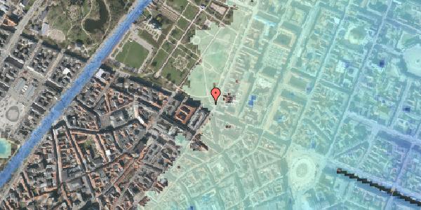Stomflod og havvand på Gothersgade 60, 1123 København K