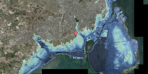 Stomflod og havvand på Hf. Svarø 52, 2650 Hvidovre