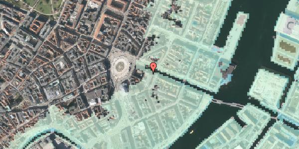 Stomflod og havvand på Nyhavn 2, st. , 1051 København K