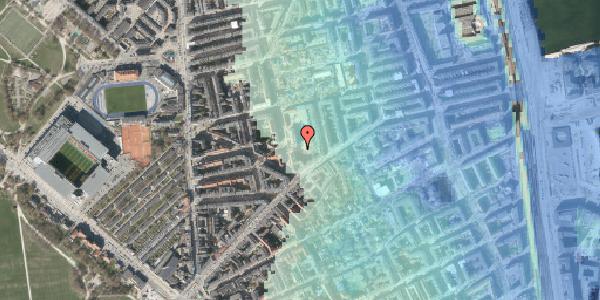 Stomflod og havvand på Randersgade 10B, 2100 København Ø