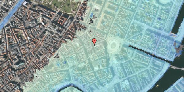 Stomflod og havvand på Ny Østergade 7, 4. mf, 1101 København K