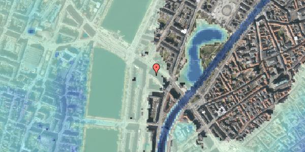 Stomflod og havvand på Gyldenløvesgade 15, 2. , 1600 København V