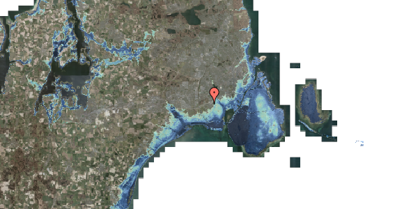 Stomflod og havvand på Hf. Kettehøj 10, 2650 Hvidovre