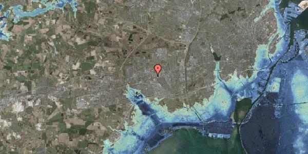 Stomflod og havvand på Sydvestvej 125B, 2600 Glostrup