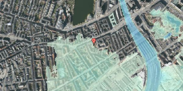 Stomflod og havvand på Vesterbrogade 35A, 4. th, 1620 København V