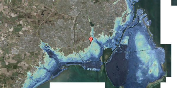 Stomflod og havvand på Hf. Svarø 85, 2650 Hvidovre