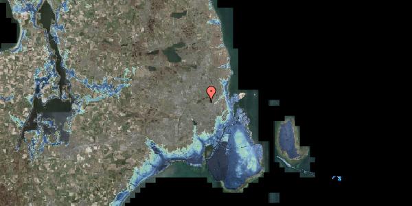 Stomflod og havvand på Efterslægtsvej 16C, 2400 København NV