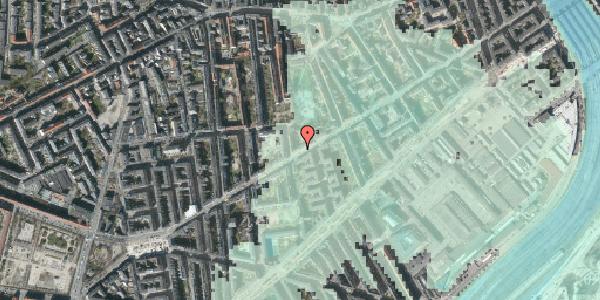 Stomflod og havvand på Istedgade 84B, 1650 København V