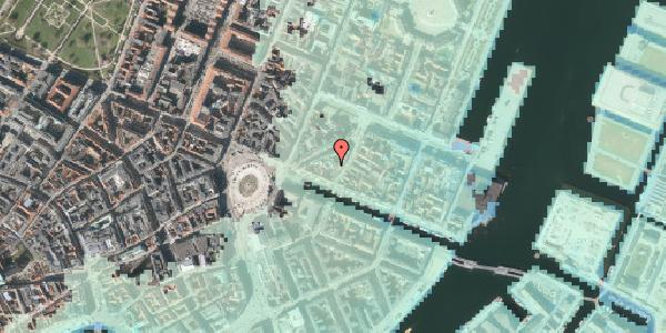 Stomflod og havvand på Nyhavn 11C, kl. , 1051 København K