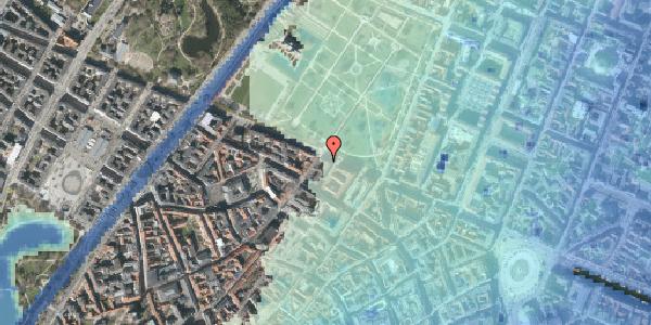 Stomflod og havvand på Gothersgade 55, 2. tv, 1123 København K