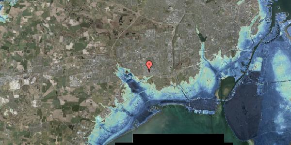 Stomflod og havvand på Jydekrogen 8, 2625 Vallensbæk