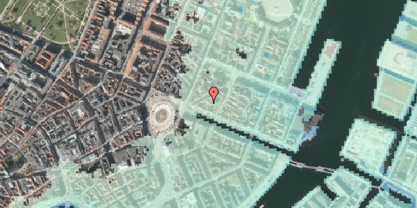 Stomflod og havvand på Nyhavn 11B, 1. 2, 1051 København K