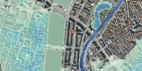 Stomflod og havvand på Nyropsgade 20, 3. , 1602 København V