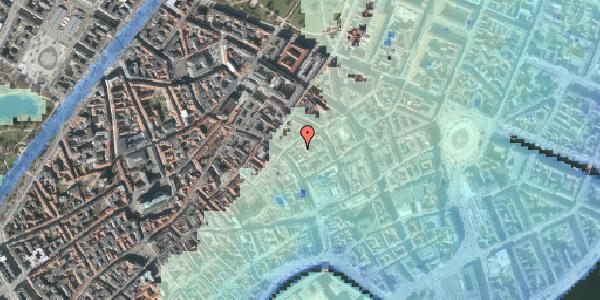 Stomflod og havvand på Kronprinsensgade 6C, kl. , 1114 København K