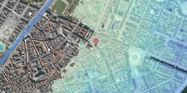 Stomflod og havvand på Gammel Mønt 29A, st. , 1117 København K