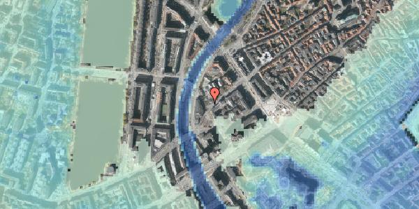 Stomflod og havvand på Axeltorv 12, 1. , 1609 København V