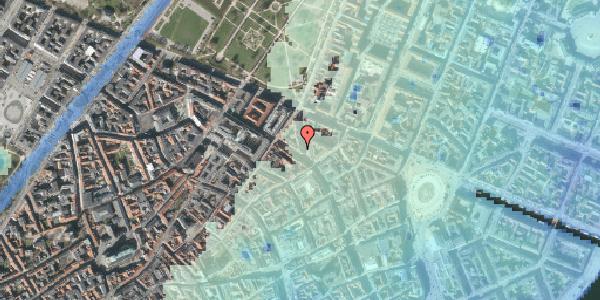 Stomflod og havvand på Gammel Mønt 10, 1117 København K
